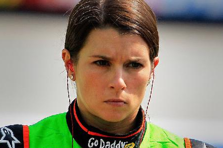 Danica, Busch Rip Drivers, Team Members at Kansas
