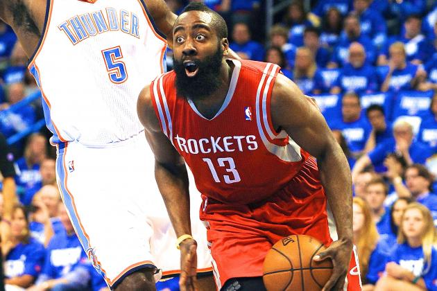 Houston Rockets' James Harden Learning 1-Star Teams Don't Last in NBA Playoffs