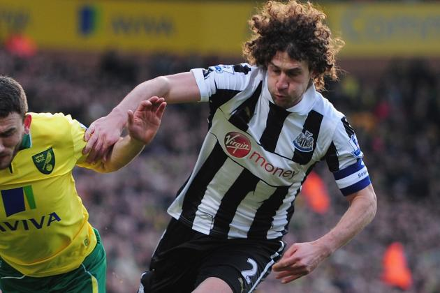 Newcastle's Coloccini Could Return from Injury Before End of Season