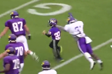 Eight-Year-Old Scores a Very Special TD for East Carolina