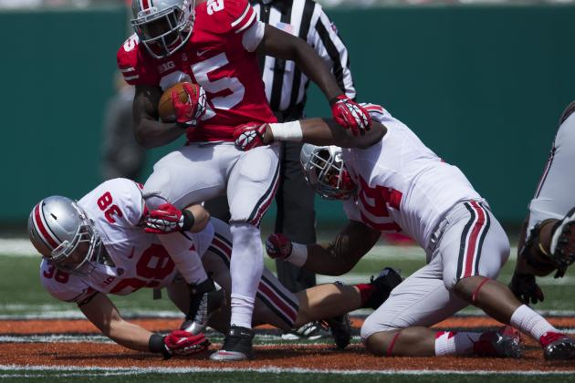 Ohio State Football's Curtis Grant Blossoming in Spring