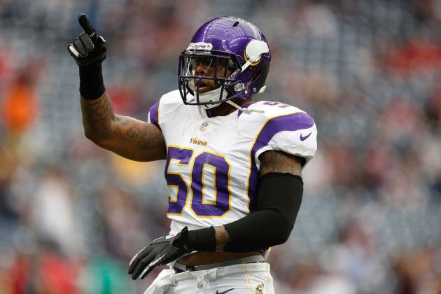 Vikings Believe Erin Henderson Could Be on Verge of a Breakthrough