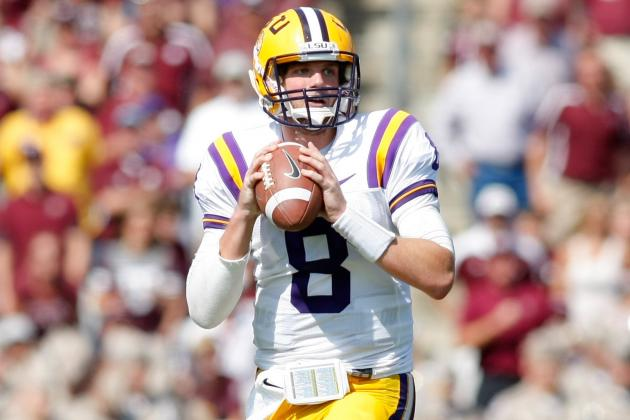 LSU QBs Enjoy Spring-Game Freedom
