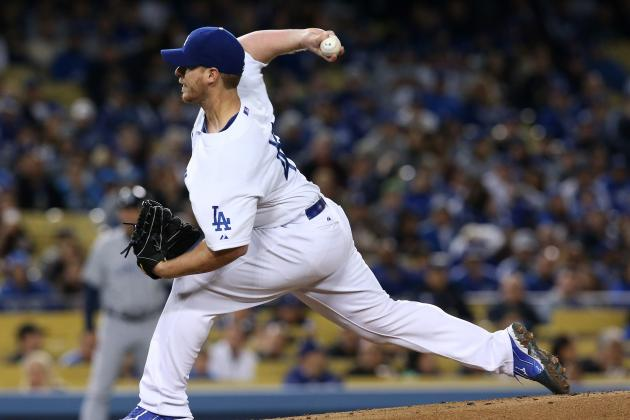 Dodgers' Chad Billingsley Sidelined by Pain in Throwing Elbow