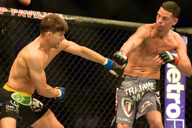 UFC on Fox 7 Breakdown: The Wheels Fall off the Diaz Wagon