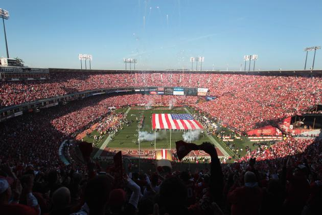 49ers New Stadium Bills, from Steel to Harbaugh's Red Carpet, Pile Up Quickly