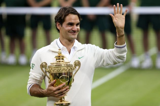 Roger Federer's Slow Start Won't Keep Him from Winning Grand Slam Title in 2013