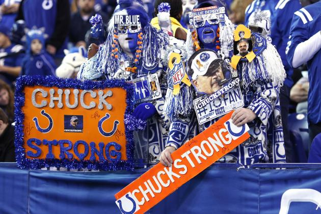 Colts Raise More Than $650,000 for Cancer Research