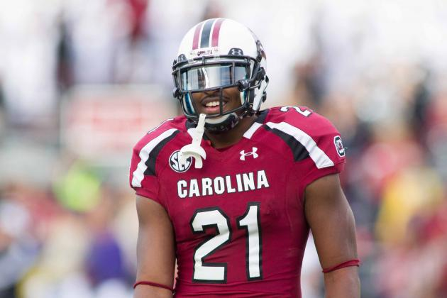 DeVonte Holloman Scouting Report: NFL Outlook for South Carolina LB