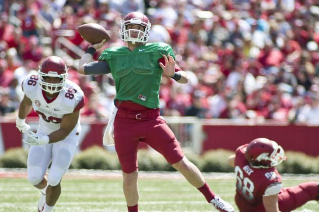 Arkansas Feels Good with Allen Under Center