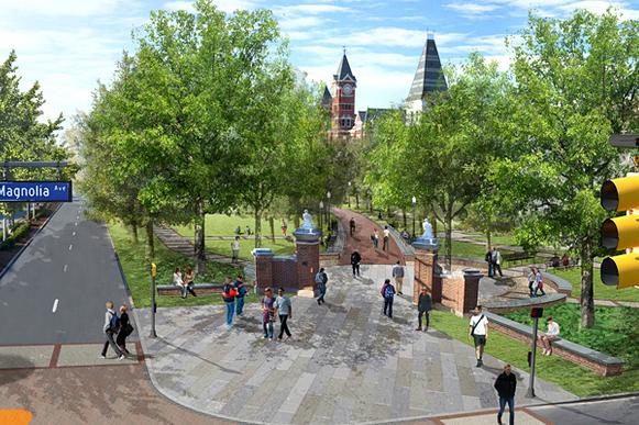 Auburn's New Toomer's Corner Plan