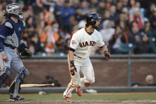 San Francisco Giants' Leadoff Hitter Setting the Table