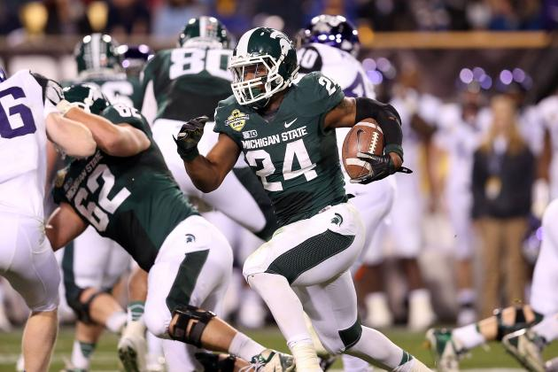 Le'Veon Bell Scouting Report: NFL Outlook for Michigan State RB
