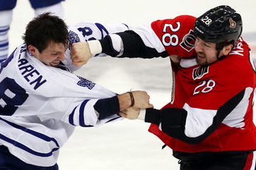 Maple Leafs Take Pride in Toughness