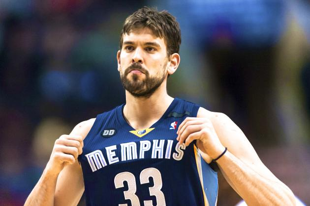 Marc Gasol Named 2013 NBA Defensive Player of the Year
