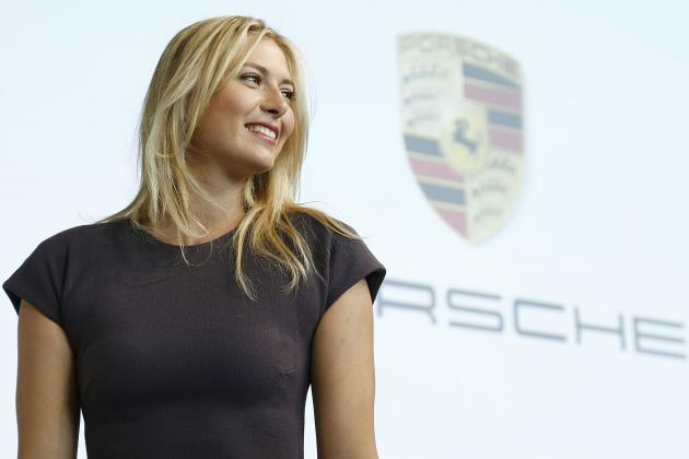 Sharapova Signs Porsche Endorsement Deal