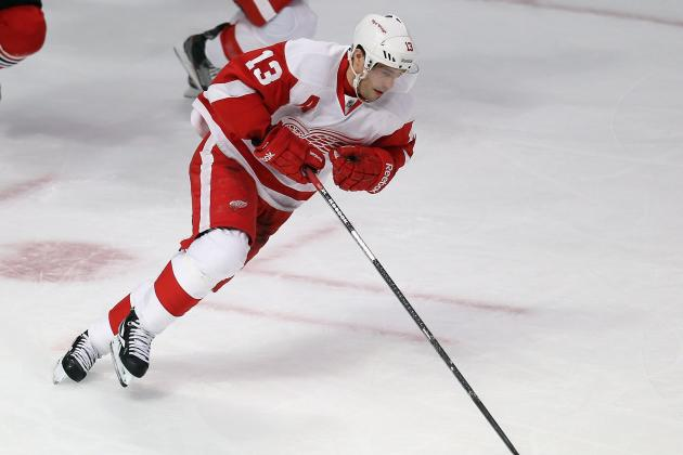 Wings' Playoff Dash in Dire Need of Offensive Jolt