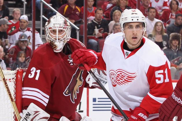 Coyotes Visit Wings with Equally Desperate Playoff Predicament