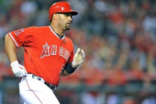 Angels' Albert Pujols Says Injured Left Foot Is 'Hurting Real Bad'