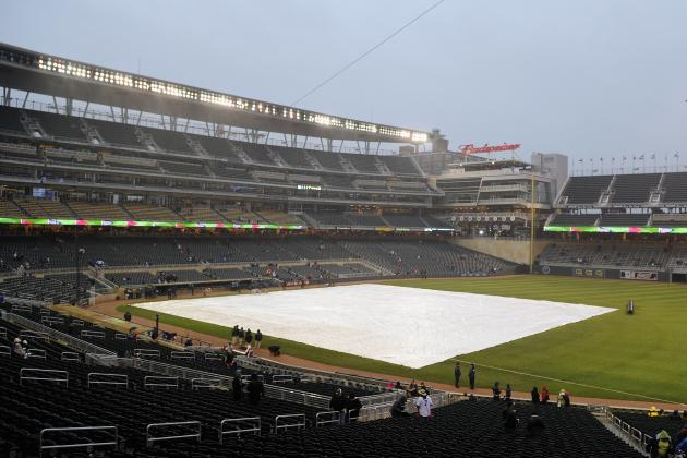 Marlins-Twins Postponed; Teams to Play Two Tuesday