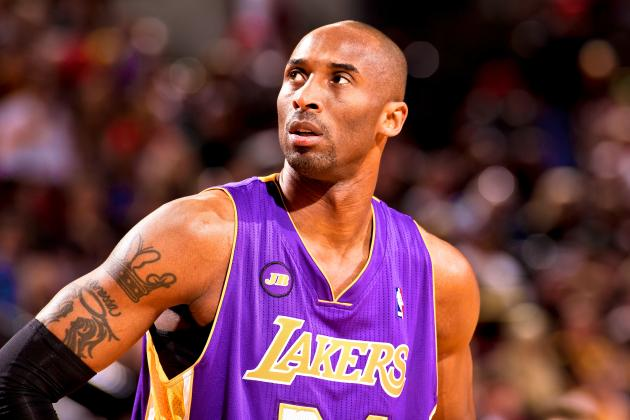 Kobe Bryant Disappoints Nation, Will No Longer Tweet During Lakers Playoff Games