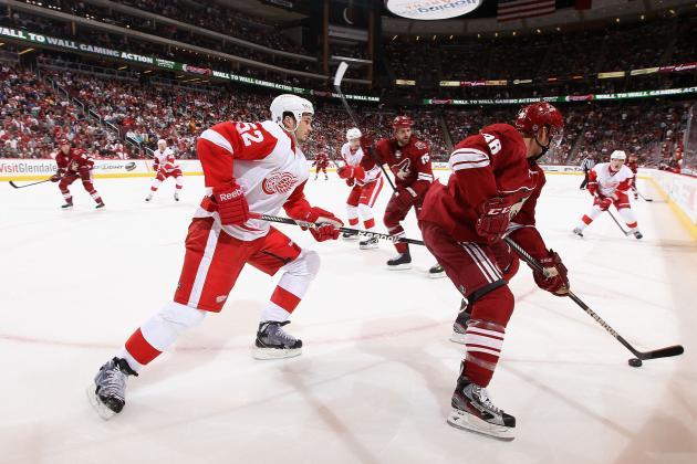 Phoenix Coyotes vs. Detroit Red Wings: Live Score, Updates & Analysis