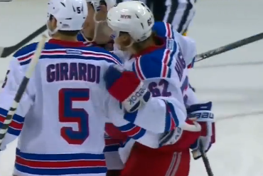 Video: Rangers Score Five Goals in Less Than Three Minutes