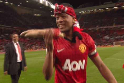 Evra Takes a Bite out of a Severed Arm During Celebration