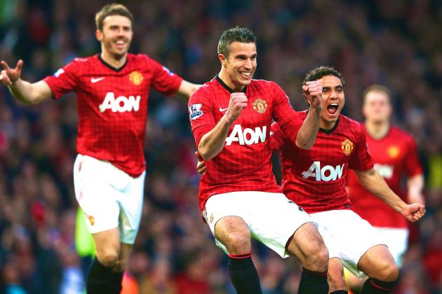 Manchester United Win 20th League Title with 3-0 Win vs. Aston Villa
