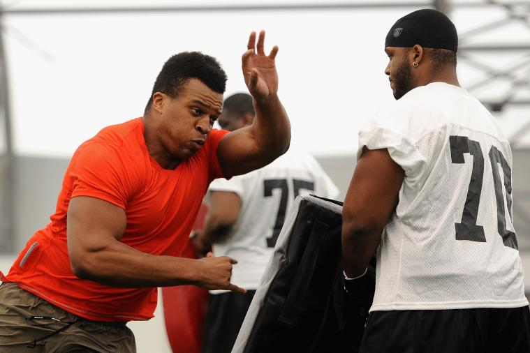 Lawrence Okoye Scouting Report: NFL Outlook for British Olympian