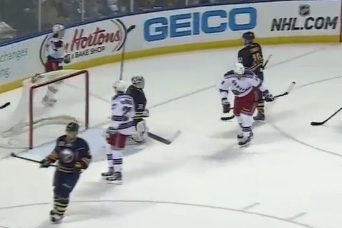 Watch: Sabres Allow 5 Goals in Under 3 Minutes to End Postseason Hopes