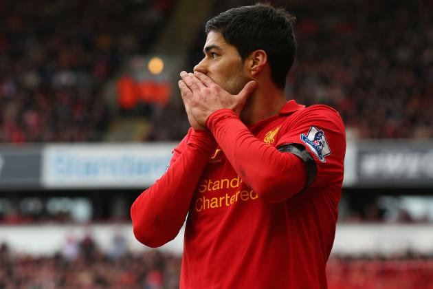 Luis Suarez Shouldn't Win PFA Player of the Year Following Biting Incident