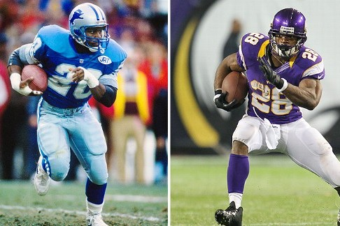 Madden 25: Handicapping the Odds for Adrian Peterson and Barry Sanders