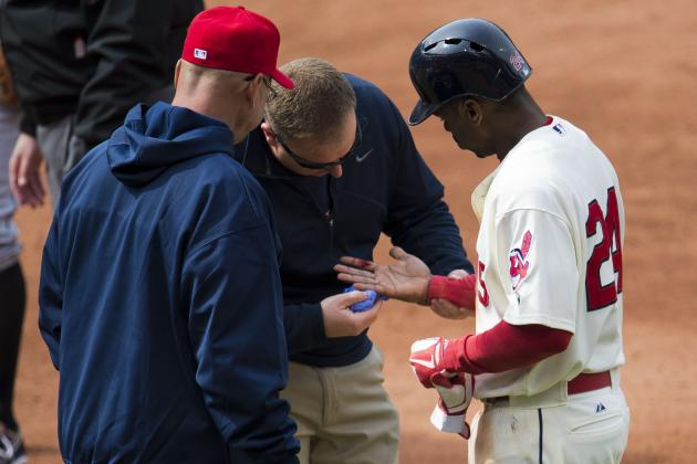 Michael Bourn to Have Stitches Removed from Finger on Thursday
