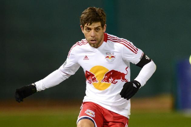 MLS Suspends New York Red Bulls' Juninho for Kick at Nielsen