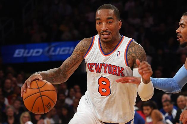 J.R. Smith 'Would Love to Retire a Knick'