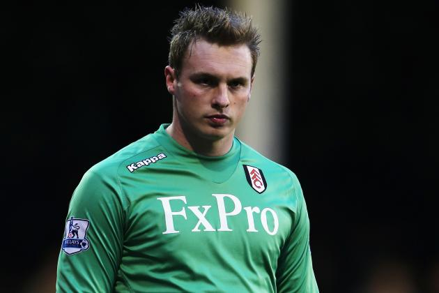 Fulham Ready to Let Keeper Stockdale Leave If £4m Price Tag Is Met