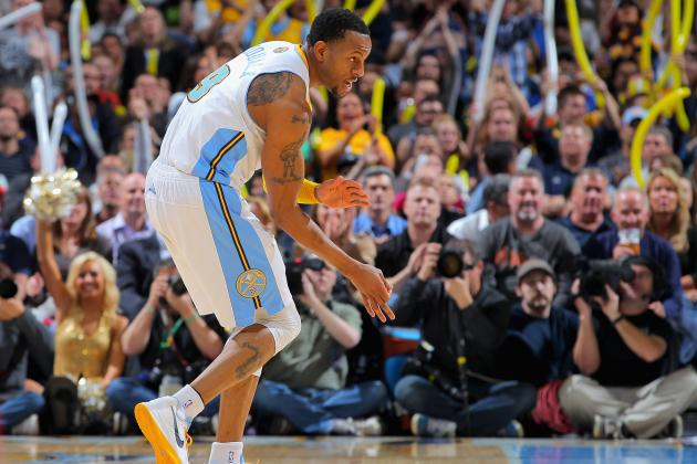 Why Andre Iguodala Is Secret Weapon to Denver Nuggets' Playoff Success