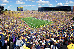 Michigan Switches Student Seating to General Admission for Football Games
