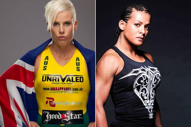Transgender MMA Fighter Fallon Fox Threatened Bec Hyatt at Invicta FC 5
