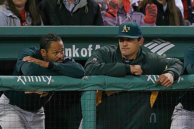 Oakland A's Fall 9-6 to Boston Red Sox