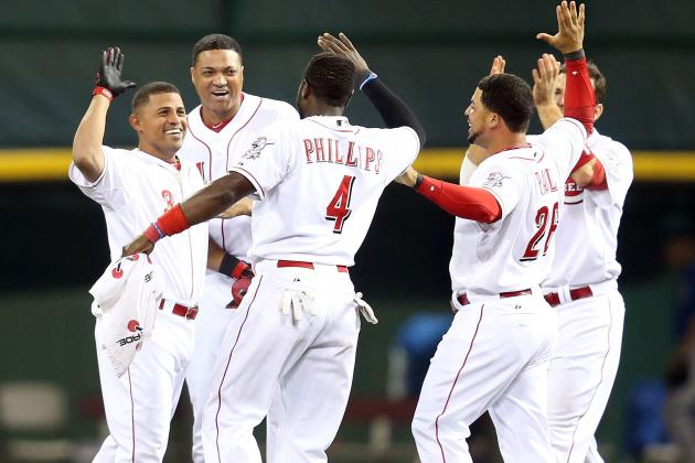 Reds Rally Past Cubs in 13th