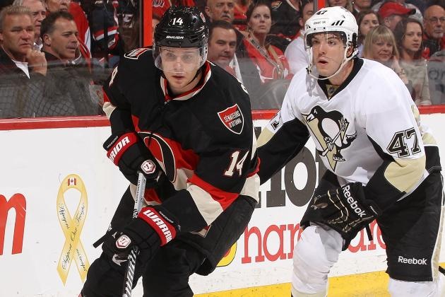 Pittsburgh Penguins Handle Ottawa Senators 3-1 at Scotiabank Place