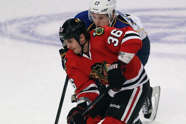 Blackhawks' Bolland Suffers Lower-Body Injury