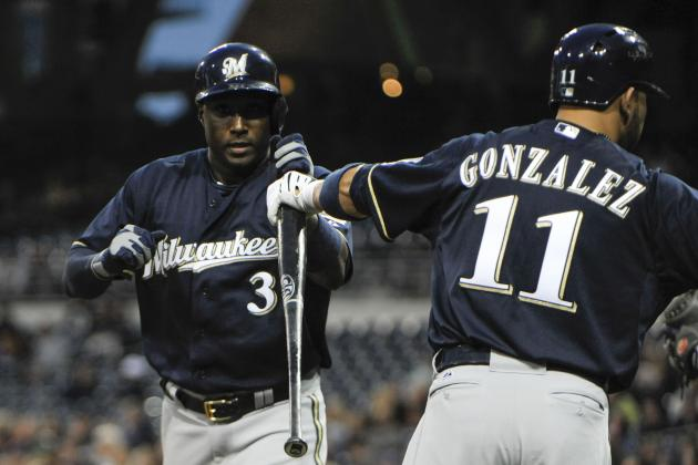 Brewers Bash Padres for 8th Straight Win