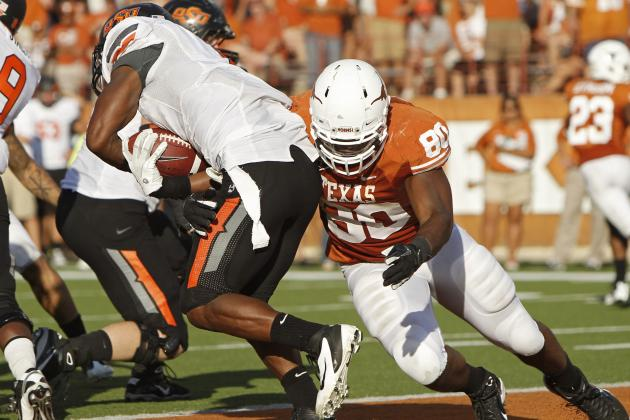 Alex Okafor Scouting Report: NFL Outlook for Texas DE