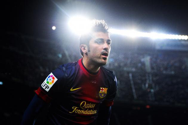 David Villa: Is the Barca Striker Missing out on Superstardom at Another Club?
