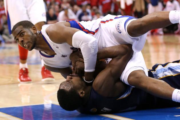 Chris Paul to the Rescue as Clippers Beat Grizzlies, 93-91