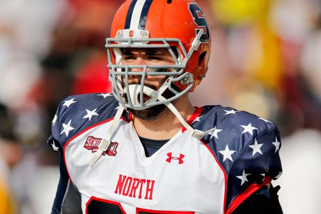 Bears Hold Private Workout for Syracuse Offensive Lineman Justin Pugh