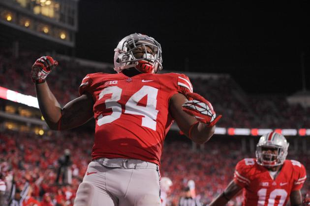 Ohio State Football: Will Carlos Hyde Be Urban Meyer's First 1,000-Yard RB?